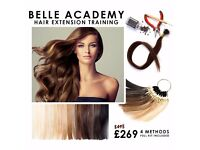 HAIR EXTENSION TRAINING COURSE CHELMSFORD-KIT & ACCREDITED CERTIFICATE INCL,EARN FROM £500 PER DAY!