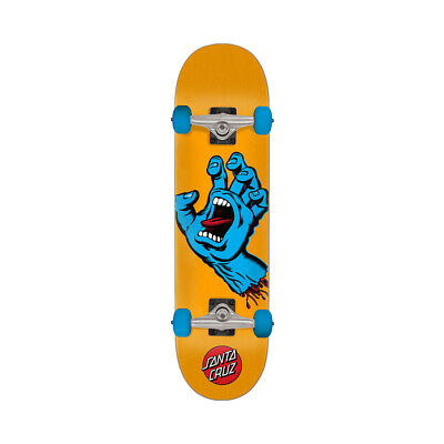 "Santa Cruz Skateboard Complete Screaming Hand Yellow/Blue 7.5"" x 30.6"""