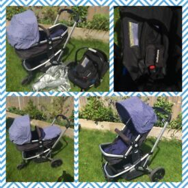 Pushchair & Car Seat - NOW ONLY £40!