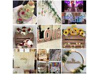 Wedding Florist, venue dresser & event decor