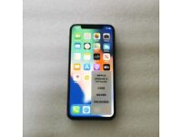 APPLE IPHONE X 64GB SILVER UNLOCKED NO FACE ID WITH RECEIPT