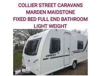 2013 bailey Orion 430/4 FIXED BED LIGHT WEIGHT caravan