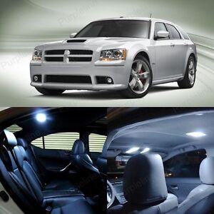 10 x White LED Interior Light Package Kit For Dodge Magnum 2005 - 2008 + TOOL