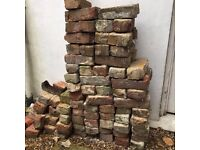 FREE - c.100 victorian reclaimed bricks for collection