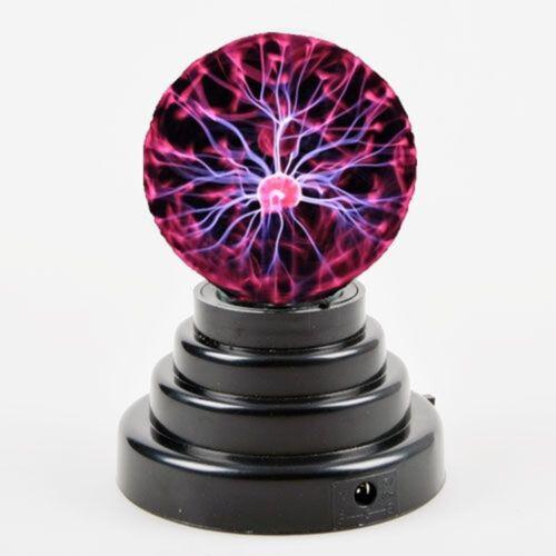 Magic Lighting USB Plasma Ball Light Desktop Sphere Lamp Disco Party Gift available at Ebay for Rs.880