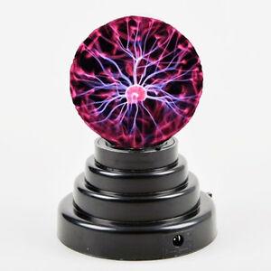 Magic Lighting USB Plasma Ball Light Desktop Sphere Lamp Disco Party Gift available at Ebay for Rs.930