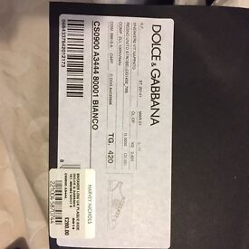 Men's Dolce & Gabbana Trainers Size 8