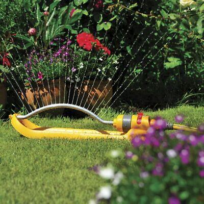 Hozelock Rectangular Sprinkler Plus 260 m² Garden Lawn Watering Impluse Tool