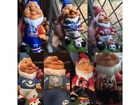 Football Garden Gnomes Hand Painted 🎨