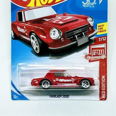 2018 Hot Wheels Target Exclusive Red Edition 7/12 Fairlady 2000 5sp New Sealed