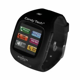 Candy tech by Madison N.Y.. wristwatch phone watch CT-03A black