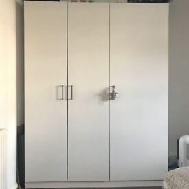 IKEA white wardrobe