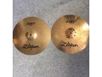 "Zildjian ZBT 13"" hi hats"