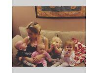 Babysitter-Nanny Available Monday - Friday.
