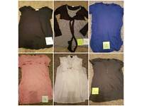 Big bundle of maternity clothes size12-16