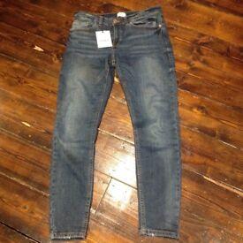 Brand New Size 8 Regular River Island Jeans