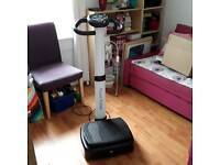 Upright vibration plate (POWER TRAINER)