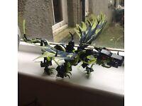 Lego ninja go dragon..in box £20.00