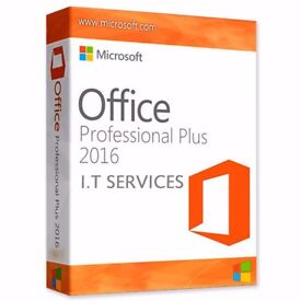 GENUINE MICROSOFT OFFICE SUITE 2016 PRO PLUS NEW ON ORIGINAL MICROSOFT DISCS WITH LIFETIME KEYS INCL