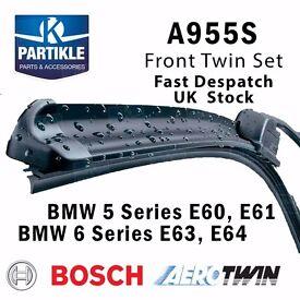 BMW 5 Series E60 Aerotwin Front Wiper Blades