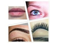 LIMITED OFFER: MICROBLADING £75, SEMI PERMANENT MAKEUP EYEBROWS £85, INDIVIDUAL EYELASHES FROM £40