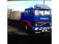 Volvo f6 flatbed truck