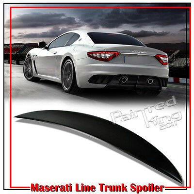 Unpainted Maserati Gran Turismo Coupe GT MC Coupe Trunk Spoiler 08-14 New S