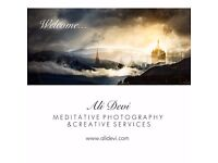 Creative Services : Meditative Photography ~ Digital Collage Art ~ Platform Based Webdesign