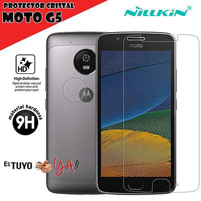 Protector de cristal templado para Lenovo Moto G5 Nillkin Motorola Moto G5