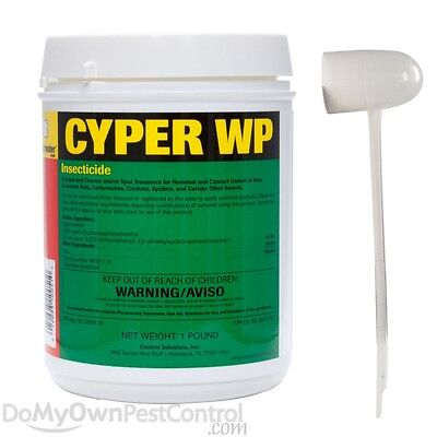 1 LB Cyper WP Multi Use Pest Control Insecticide 40% Cypermethrin Generic Demon