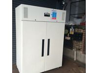 Commercial double door fridge for shop cafe restaurant bakery takeaway fridge pizza cafe fridge