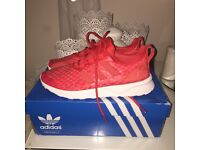 BRAND NEW! Adidas ZX Flux Verve trainers in Red