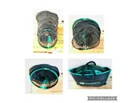 DELIVERY AVAILABLE Course carp general fishing nets with poles handles job lot gear items for sale