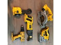 Dewalt 18v 5 piece set.