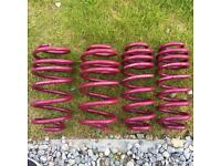 Vogtland Audi A3 35mm lowering springs.