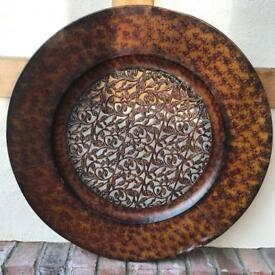 Ornate Decorative Plate / Wall Art