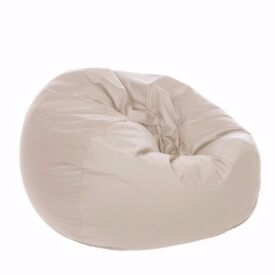 Cream bean bag in great condition