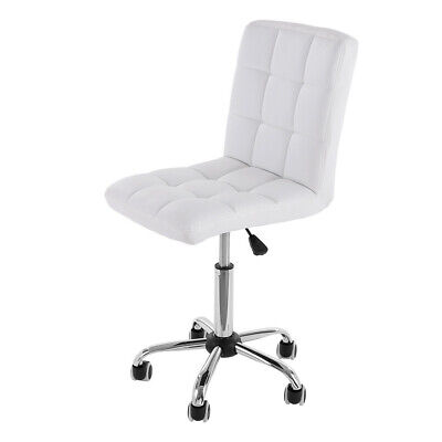 Executive High Back Office Chair Leather Computer Desk Swivel Ribbed Adjustable!