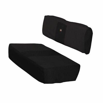 Kawasaki Mule 4000 4010 Classic Accessories Bench Seat Cover Set - Black Kawasaki Mule Accessories