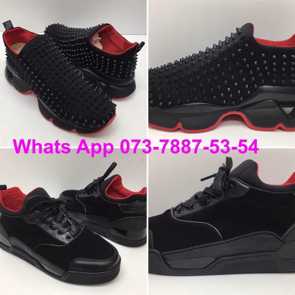 best loved df5cb bfb02 Christian Louboutin Donna sock Sneakers Louboutin Aurelien Black red bottom  shoes cheap UK london | in Kilburn, London | Gumtree
