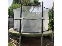 Supertramp Trampoline With Safety Net For Sale