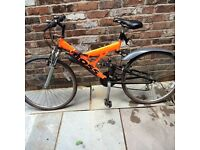 Men's boss 21speed mountain bike