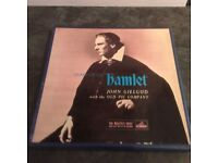 Shakespeare Hamlet - John Gielgud with the old Vic Company - 3 x LP Box Set