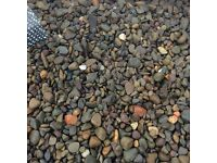Multi mix garden and driveway chips/gravel