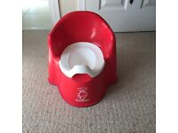 Baby Bjorn Potty chair (red)
