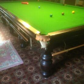 RILEY FULL SIZE SNOOKER TABLE SLATE