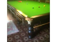 RILEY FULL SIZE SNOOKER TABLE SLATE