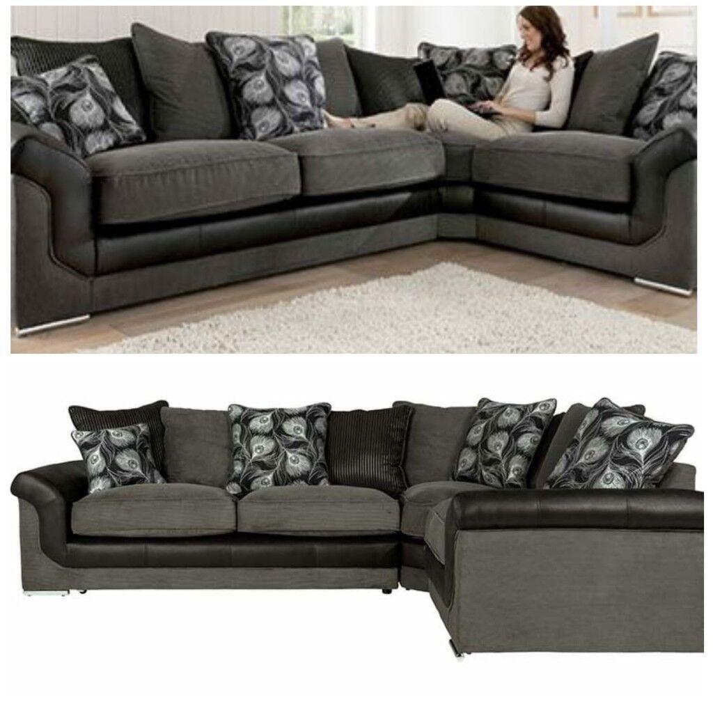 Sonia Brand New Corner Sofa Free Delivery