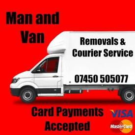 MAN WITH VAN HIRE CALL FREE FOR QUOTES