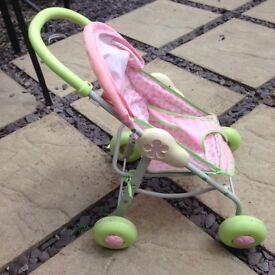 Baby pram walker